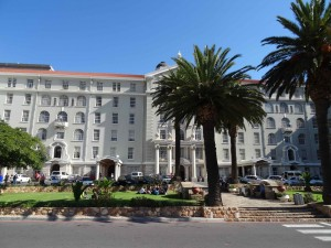Groote Schuur Hospital (Photograph taken 20th May 2015 by Julie Charlesworth)