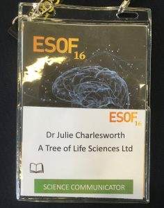 ESOF Science Communicator