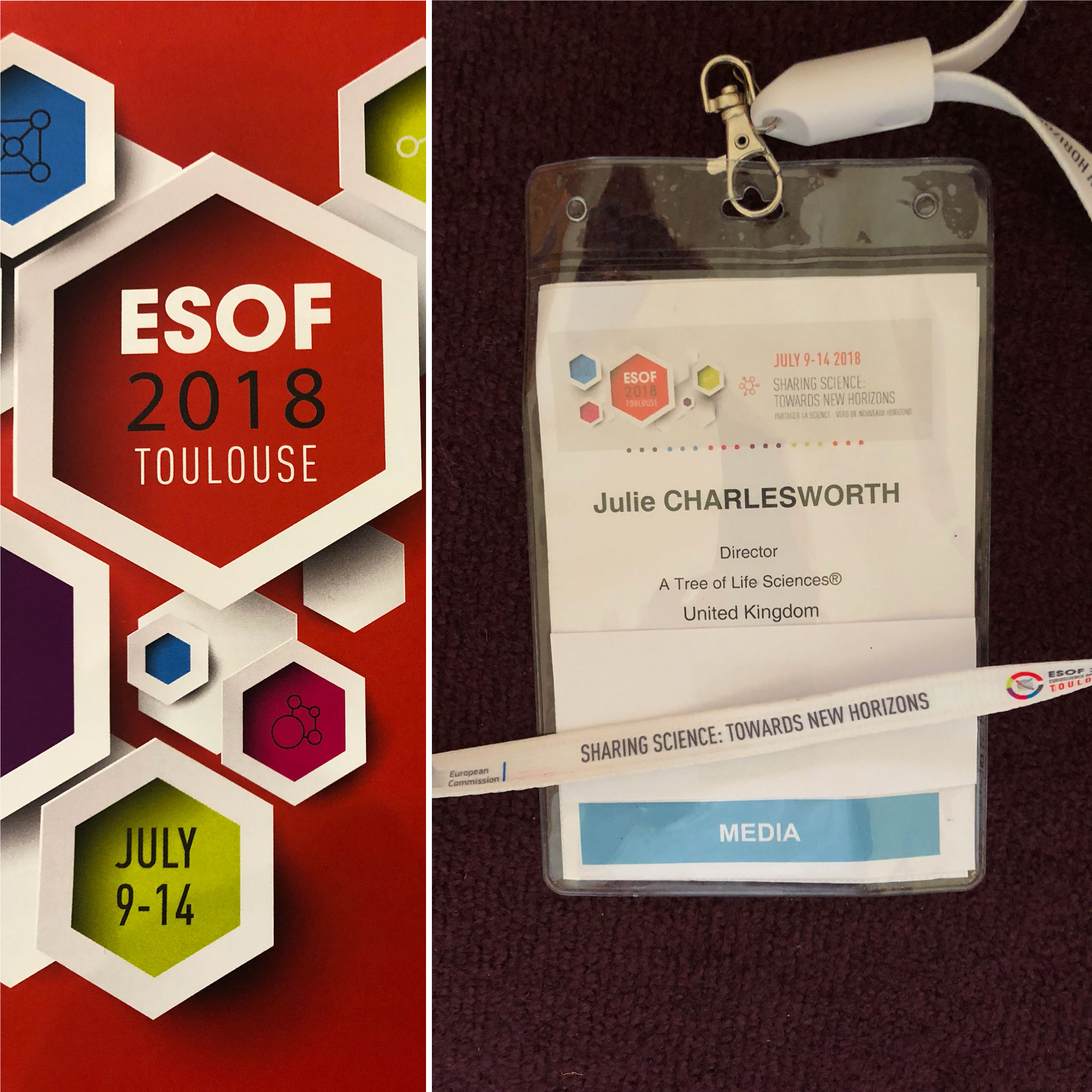 Euorpean Science Open Forum (ESOF 2018) media accreditation